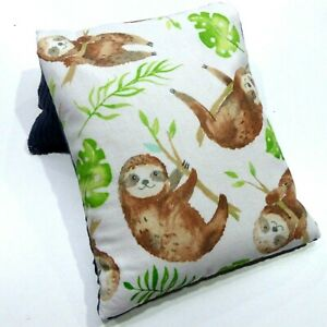 Wheat Bag. Heat Pack 34 x 17 cm SLOTH - SLOTHS HANGING OUT Lavender or Unscented