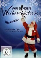 DIE SCHÖNSTEN WEIHNACHTSLIEDER ZUM MITSINGEN  DVD  24 TRACKS KARAOKE  NEU
