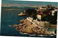 CPA Marseille-La Corniche Malmousque et les Iles (189059)