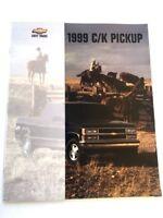 1999 Chevrolet Silverado C/K Truck Sales Brochure Book - 2500 3500 HD 1500