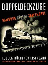 Trasporto da viaggio DOPPIO MAZZO Locomotiva a vapore treno ferrovia Germania lv4368