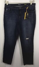 Style & Co 14W Jeans Pants Slim Leg Mid Rise Women's Plus Size Denim New NWT