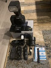 Canon 5D Mark III Lens Bundle W/ Accessories. Ready To Shoot & Low Shutter Count