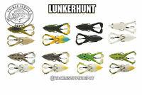 Lunkerhunt Prop Frog Plopper Hollow Body Topwater 3.25in 1/2oz - Pick