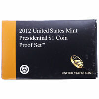 2012 Empty Packaging Replacement for PRESIDENTIAL PROOF SET BOX AND COA no coins