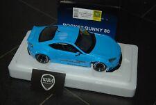 TOYOTA GT86 Rocket Bunny RHD blue Autoart 78758 SUPERB!! 1/18 SEE INFO