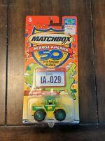 new on card Matchbox Across America 50 birthday series