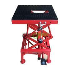 300lb Motorcycle Hydraulic Scissor Floor Jack Lift Stand ATV