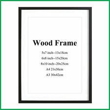 A1 A2 A3 A4 A5 A6 Black Photo Frame White Picture Frame Oak Poster Frames Walnut