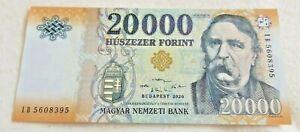 Hungary 20000 forint / HUF / Banknote / Uncirculated / 2020 / IB5608395