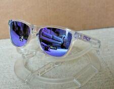 Oakley Frogskins XS OJ9006-03 Polished Clear/Violet Iridium Sunglasses BNIB