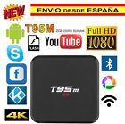 2/8GB T95M 4K Android 6.0Smart TV Box KODI XBMC 3D HDMI WIFI Dolby Media Player