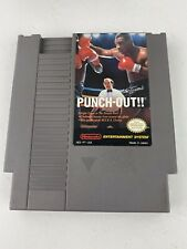 Nintendo NES Mike Tyson's Punch-Out Vintage Video Game Tested/Works