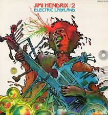 """JIMI HENDRIX EXPERIENCE """"ELECTRIC LADYLAND"""" DRUILLET COVER M-/M- 1968/75"""