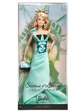 Barbie Landmarks Statue of Liberty Statua della Libertà DOTW NRFB