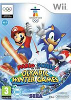 Mario & Sonic At The Olympic Winter Games (Nintendo Wii Game) *No Outer Artwork*