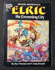 1982 Elric The Dreaming City Sc Vf- 7.5 Marvel Graphic Novel #2
