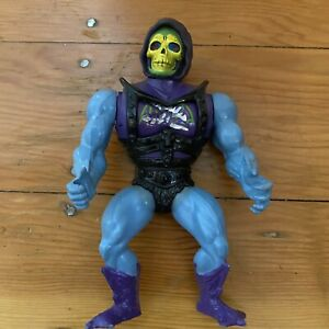 MOTU Battle Armor Skeletor, Masters of the Universe Vintage Mattel 1983 Mexico