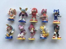 Sonic The Hedgehog Feve Figure Set New Knuckles Tails Saga Megadeive