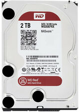 """New HDD Western Digital 3.5"""" Red WD20EFRX 2TB SATA3 5400RPM 64M NAS Desktop HDD"""