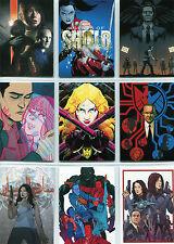 Marvel Agents of SHIELD Season 2 Art of Evolution Complete 12 Card Chase Set