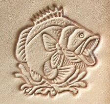 Craftool Tandy 8362 Fish 2D/3D Leather Leathercraft Stamp Tool