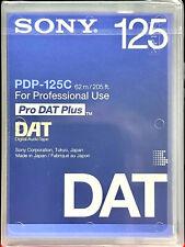 Sony PDP-125C Professional DAT Tape (125 Min)