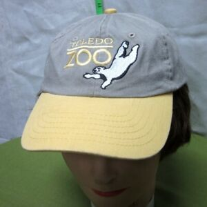 TOLEDO ZOO Ohio baseball-hat Polar Bear youth cap Zoological embroidery