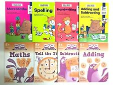 KS1 Help With Home Work Set of 8 Educational Workbooks Ages 5+ Spelling Maths
