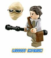LEGO Minifigure Star Wars - Rey - hair wrap Force Awakens sw677 FREE POST