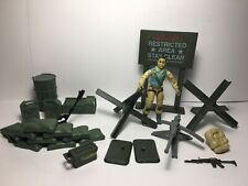 GI Joe Defense Units - Machine Gun and Mortar Lot 1984 Airborne 100% Complete
