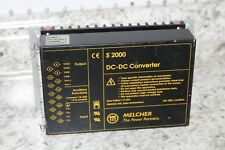 MELCHER S 2000 DC-DC ELECTRIC CONVERTER  S2000     ds2540-7r