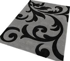 """Teppich """"Lambada 451"""" rechteckig silber-schwarz 170/120 cm LALEE  755747-3"""