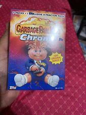 garbage pail kids chrome series 2 Blaster Box Sealed