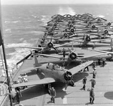 WW2 Photo WWII US Navy Aircraft Carrier USS Enterprise CV-6  World War Two/ 7144
