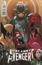 Uncanny Avengers #1 Pichelli Variant Comic Book - Marvel