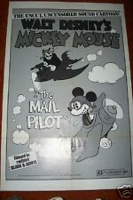 Mail Pilot Mickey Mouse Folded   41 x 27  Movie poster