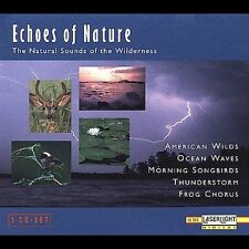 Echoes OF Nature 5 CD Set The Natural Sounds of the Wilderness Digital Recorded