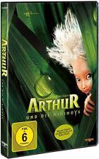 DVD ARTHUR UND DIE MINIMOYS v. Luc Besson, Freddie Highmore ++NEU