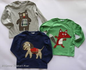 Mini Boden Applique T-Shirt 0-3mth up to 3-4 years NEW