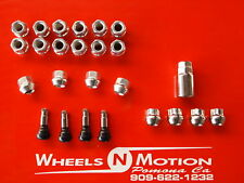 14x1.5 MM LUG NUTS AND LOCK KIT OPEN END 20pc kit