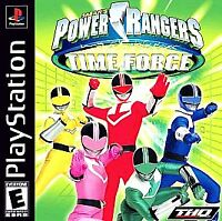 Power Rangers Time Force (Sony PlayStation 1, 2001) PS 1  RARE game everyone