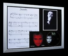 PHIL COLLINS Sussudio GALLERY QUALITY CD FRAMED DISPLAY-EXPRESS GLOBAL SHIPPING!