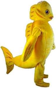 Goldfish Professional Quality Lightweight Mascot Costume Adult Size