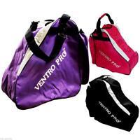 New Ventro Pro VA37 Large Roller/ Inline/ Ice Skate Bag Black / Purple / Pink
