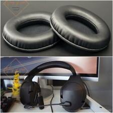 Oval Ellipse Egg Shape Soft Leather EarPad Foam Cushion For HyperX Cloud Stinger