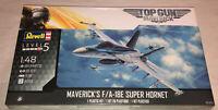 Revell Top Gun Maverick's F/A-18E Super Hornet Aircraft 1:48 model kit 5871