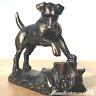 Bronze effect Jack Russell Terrier ornament figurine sculpture Dog Lover Gift