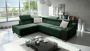 Brand New Corner Sofa Bed With Storage Alicante VII