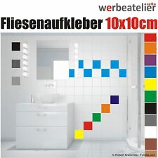 Fliesenaufkleber 10x10cm Küche Bad Fliesendekor Kacheldekor Aufkleber Badfliesen